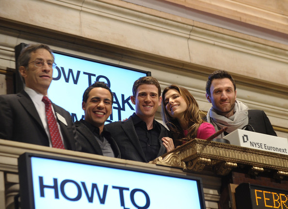 "Cast Of ""How To Make It In America"" Rings The NYSE Opening Bell"