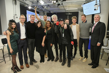 Bryan Moore Ricki Lake, Wesley Stromberg, Sammy Wilkinson, Megan Nicole, and Melvin Greg Launch #TREATMENTFORALL