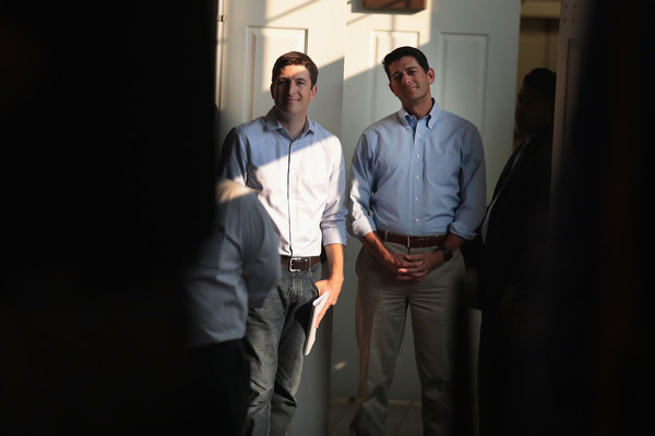 Bryan Steil Photos Photos - Paul Ryan Campaigns With GOP