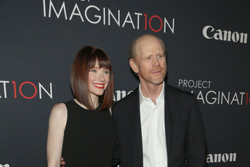 Bryce Dallas Howard Ron Howard Celebs at Canon's Project Imaginat10n Film Festival