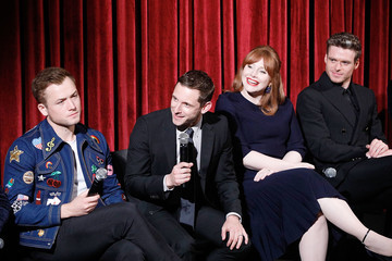 Bryce Dallas Howard Taron Egerton The Academy Of Motion Picture Arts & Sciences Hosts An Official Screening Of Rocketman