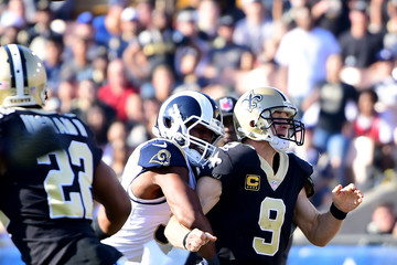 Bryce Hager New Orleans Saints vLos Angeles Rams