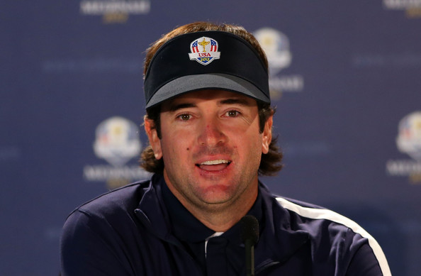 Bubba Watson Bubba Watson of the USA speaks with the media during the ...