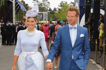 Buck Palmer Celebs Attend Melbourne Cup Day