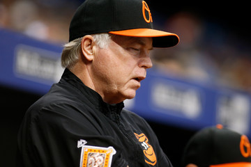 Buck Showalter Baltimore Orioles v Tampa Bay Rays
