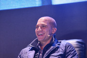 NFL player Jimmy Graham attends the Bud Light Madden Bowl at The Bud Light Hotel on January 30, 2014 in New York City.
