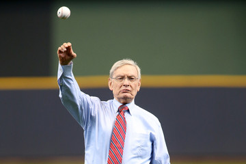 Bud Selig Colorado Rockies v Milwaukee Brewers