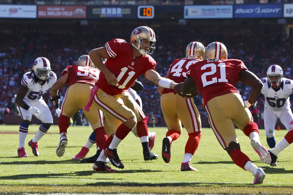 Image result for alex smith and frank gore