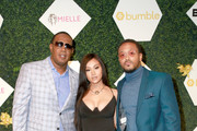 Master P, Cymphonique Miller, and Romeo Miller  arrive at the BET Her Awards Presented By Bumble at Conga Room on June 21, 2018 in Los Angeles, California.