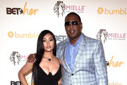 Cymphonique Miller and Master P attend the BETHer Awards, presented by Bumble, at The Conga Room at L.A. Live on June 21, 2018 in Los Angeles, California.