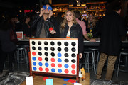Brandi Cyrus hosts the BumbleSpot #atthemoxy launch with special guest Wells Adams at Moxy Chicago Downtown on November 15, 2018 in Chicago, Illinois.