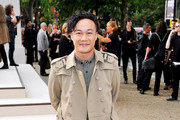 Singer Eason Chan attends the Burberry Prorsum Spring/Summer 2011 fashion show during LFW at Chelsea College of Art and Design on September 21, 2010 in London, England.