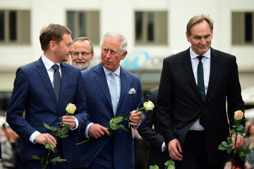 Burkhard Jung The Prince Of Wales And Duchess Of Cornwall Visit Germany - Day 2 - Leipzig