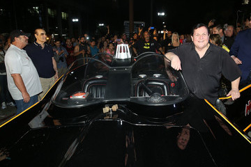 Burt Ward The City of Los Angeles And DC Entertainment Honors Adam West With Bat-Signal Lighting Ceremony