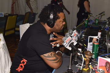Busta Rhymes BET AWARDS '14 - Radio Broadcast Center - Day 2