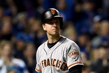 Buster Posey Division Series - San Francisco Giants v Chicago Cubs - Game Two
