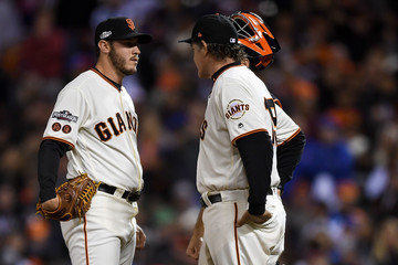 Buster Posey Division Series - Chicago Cubs v San Francisco Giants - Game Three