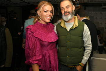 """Busy Philipps Marc Silverstein LA Special Screening Of Annapurna Pictures' """"Booksmart"""" - After Party"""