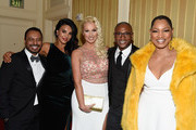 (L - R) Carlos Moreno Jr., Tilda del Toro, Amanda Moore, Tommie Davidson and Garcelle Beauvais attend Byron Allen's Oscar Gala Viewing Party To Support The Children's Hospital Los Angeles at the Beverly Wilshire Four Seasons Hotel on March 4, 2018 in Beverly Hills, California.