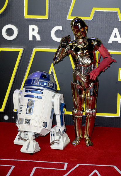 'Star Wars: The Force Awakens' - European Film Premiere - Red Carpet Arrivals
