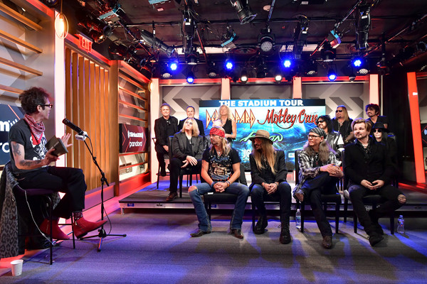 Press Conference For THE STADIUM TOUR DEF LEPPARD - MOTLEY CRUE - POISON At SiriusXM's Hollywood Studios