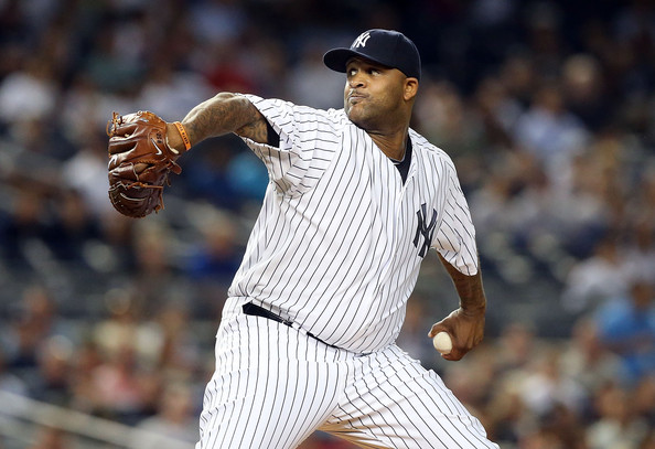 C.C. Sabathia - Tampa Bay Rays v New York Yankees
