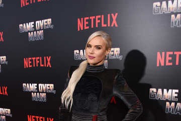 C.J. Perry Premiere Of Netflix's 'Game Over, Man!' - Red Carpet