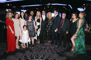 Kathy Hilton, Nicky Hilton Rothschild, Paris Hilton and Paris Jackson meet with honorees during the CASA Of Los Angeles' 2018 Evening To Foster Dreams Galaat The Beverly Hilton Hotel on April 18, 2018 in Beverly Hills, California.