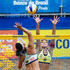Juliana Photos - Agatha (L) and Juliana (R) in action during the CBBVP Open Beach Volleyball - Final at Enseada Beach on November 17, 2013 in Guaruja, Brazil. - CBBVP Open Beach Volleyball - Final