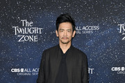 "John Cho attends CBS All Access new series ""The Twilight Zone"" premiere  at the Harmony Gold Preview House and Theater on March 26, 2019 in Hollywood, California."