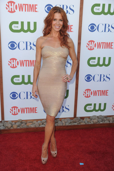 Actress Poppy Montgomery arrives at the TCA Party for CBS, The CW and Showtime held at The Pagoda on August 3, 2011 in Beverly Hills, California.