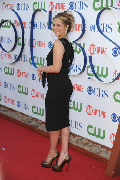 Actress Sarah Michelle Gellar arrives at the TCA Party for CBS, The CW and Showtime held at The Pagoda on August 3, 2011 in Beverly Hills, California.