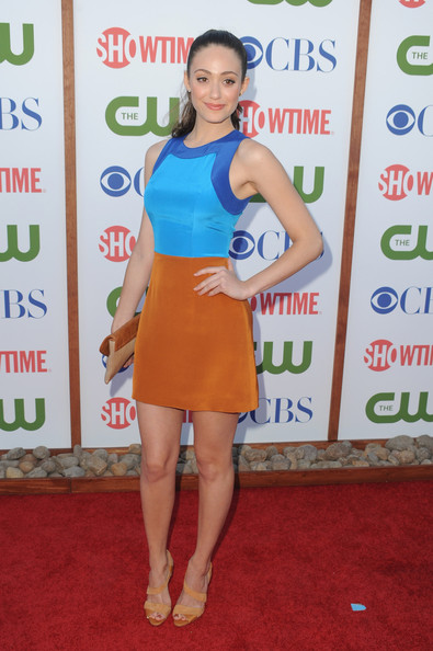 Actress Emmy Rossum arrives at the TCA Party for CBS, The CW and Showtime held at The Pagoda on August 3, 2011 in Beverly Hills, California.