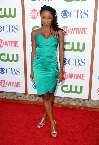 Actress Shanola Hampton arrives at the TCA Party for CBS, The CW and Showtime held at The Pagoda on August 3, 2011 in Beverly Hills, California.