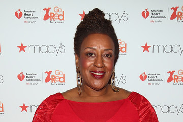 CCH Pounder The American Heart Association's Go Red For Women Red Dress Collection 2017 Presented By Macy's at Fashion Week in New York City - Arrivals & Front Row