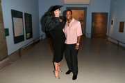 Ashley Graham and A$AP Ferg attend the CFDA Fashion Awards at the Brooklyn Museum of Art on June 03, 2019 in New York City.