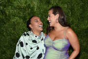 Paloma Elsesser and Ashley Graham attend the CFDA / Vogue Fashion Fund 2019 Awards at Cipriani South Street on November 04, 2019 in New York City.