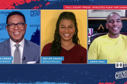 In this screengrab Don Lemon, Taylor Rooks and Chris Paul speak during the CITIZEN by CNN 2020 Conference on September 22, 2020 in UNSPECIFIED, United States.