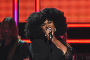 Singer-songwriter Jill Scott performs on stage during CMT Artists of the Year 2016 on October 19, 2016 in Nashville, Tennessee.
