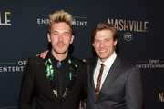 "Actors Sam Palladio and Chris Carmack attend CMT's ""Nashville"" In Concert Final Season Celebration at Grand Ole Opry House on March 25, 2018 in Nashville, Tennessee."