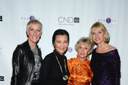 (L-R) Jan Arnold, Kieu Chinh, Tippi Hedren and Lynelle Lynch attend 2013 Legacy of Style Award Ceremony at The Peninsula Hotel on September 23, 2013 in Beverly Hills, California.
