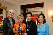 (L-R) Jan Arnold, Tippi Hedren, Kieu Chinh and Thuan Le attend 2013 Legacy of Style Award Ceremony at The Peninsula Hotel on September 23, 2013 in Beverly Hills, California.