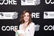 Alyssa Milano attends CORE Gala: A Gala Dinner to Benefit CORE and 10 Years of Life-Saving Work Across Haiti & Around the World at Wiltern Theatre on January 15, 2020 in Los Angeles, California.