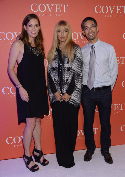 Rachel Zoe Pictures Celebs At The Covet Fashion Launch Event