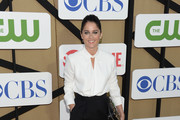 Robin Tunney in Black and White - The Best Dressed at the Summer TCA Party 2013