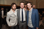 Thursday: Ian Somerhalder, Stephen Amell, and Grant Gustin - The Week In Pictures: May 15, 2015