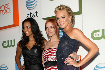 """Ashlee Simpson Katie Cassidy The CW & AT&T's """"Melrose Place"""" Premiere Party - Arrivals"""