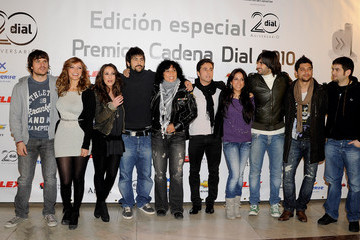 Dani Martin Jose Manuel Munoz 'Cadena Dial 2010 Awards' Press Conference