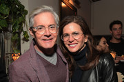 Kyle MacLachlan (L) and Desiree Gruber attend the Cadillac Oscar Week Celebration at Chateau Marmont on February 21, 2019 in Los Angeles, California