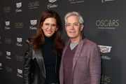 Desiree Gruber (L) and Kyle MacLachlan attend the Cadillac Oscar Week Celebration at Chateau Marmont on February 21, 2019 in Los Angeles, California